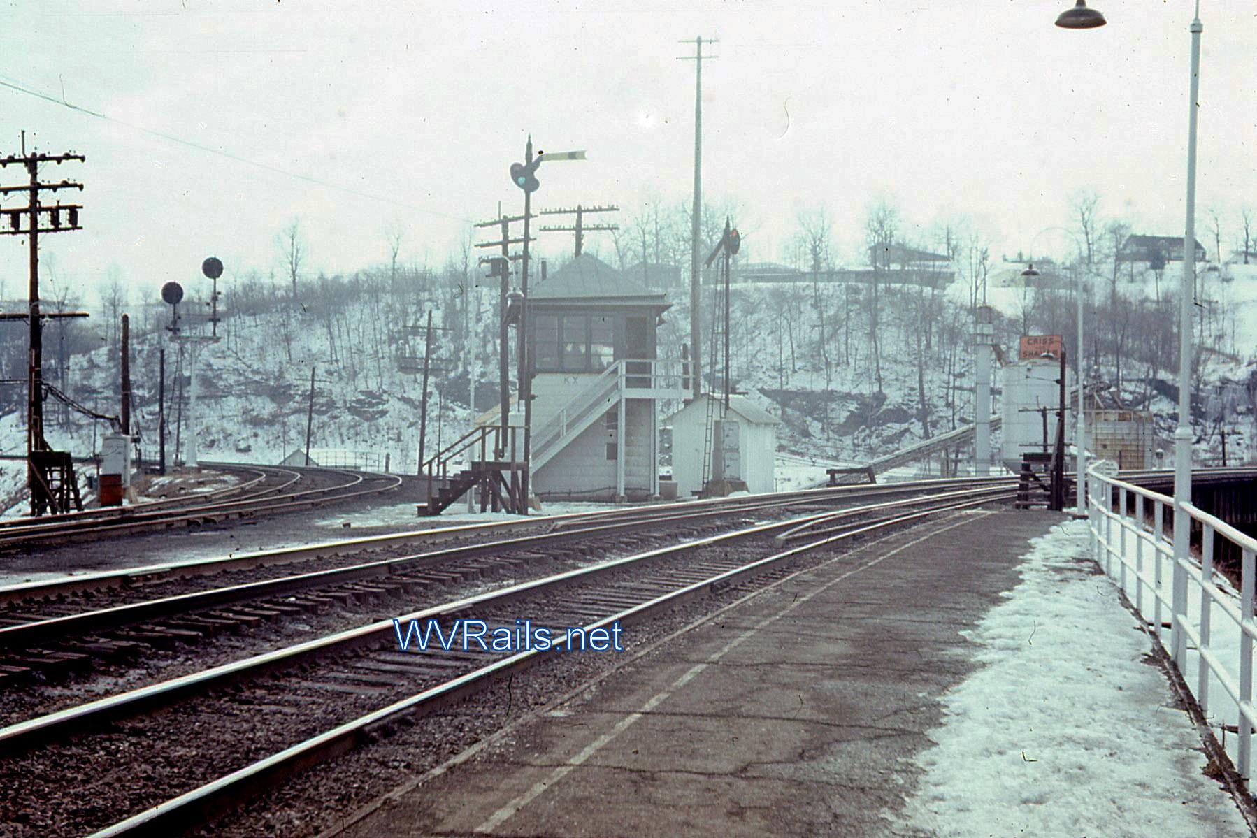 Kenova Wv A Hot Spot For Train Watching Wvrails Net