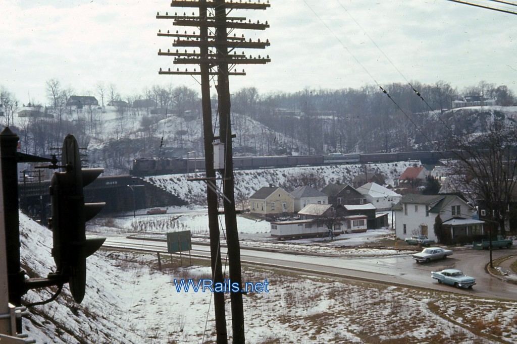 Kenova, WV Feb 1968  WB Powhatan Arrow Watermarked