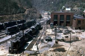 N&W Mullens, WV Motor Barn Apr 1968 1