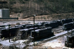 N&W Mullens, WV Motor Barn Apr 1968 2