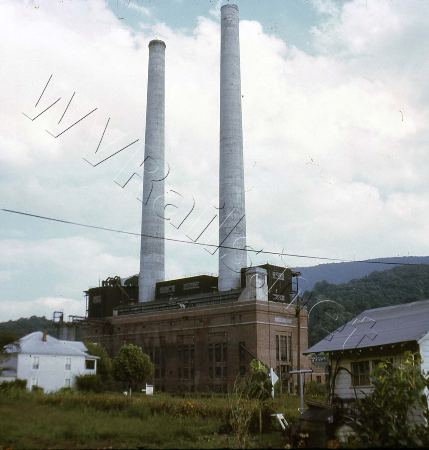Ex VGN Power Plant Narrows, VA OCT 1969