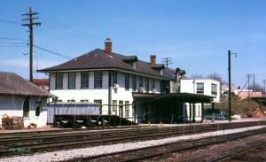 N&W Princeton, WV Depot - APR 1968
